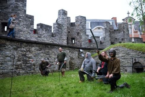 ...want de ridders zijn er klaar voor!