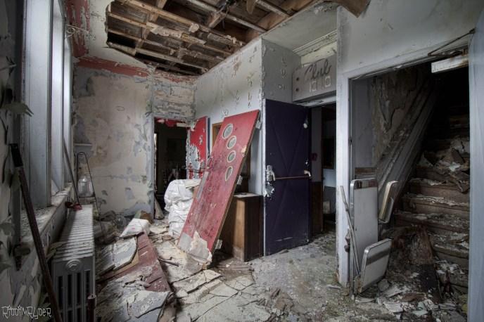 Abandoned Hotel & Nightclub
