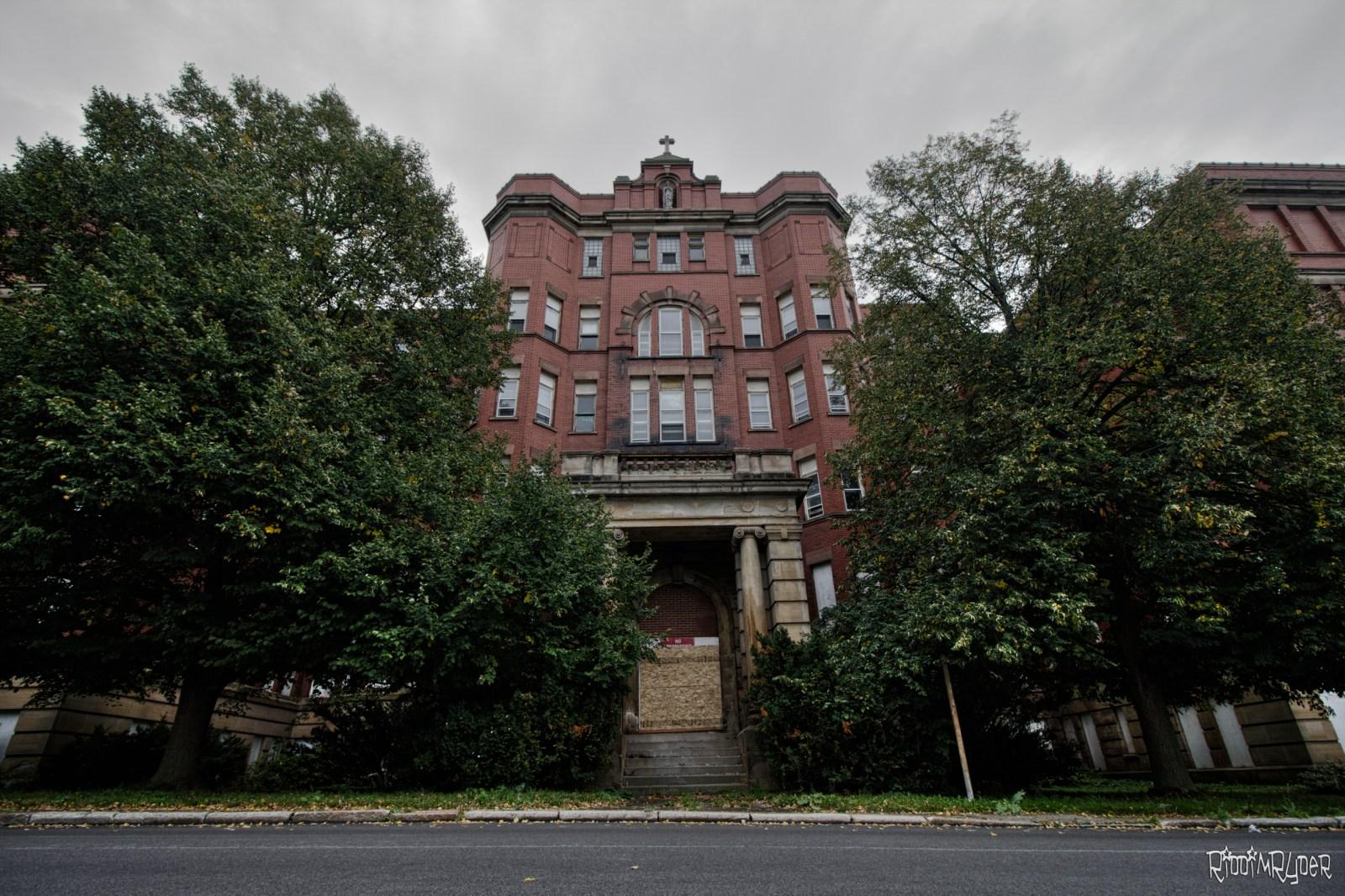 Abandoned St, Mary's Hospital
