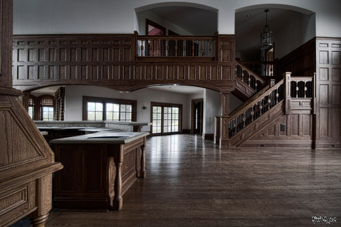 Vacant $4,000,000 Lakefront Mansion