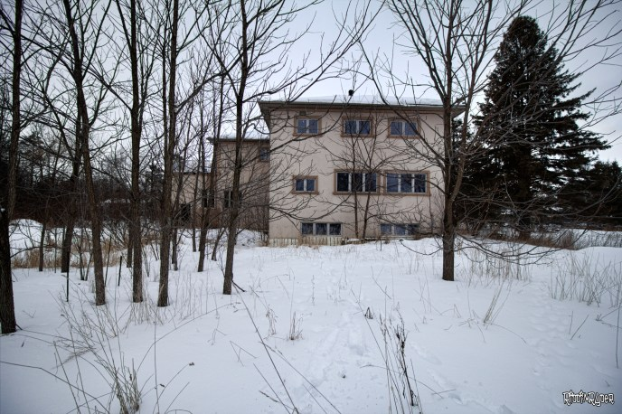 Outside the Mysterious Abandoned Dream Mansion