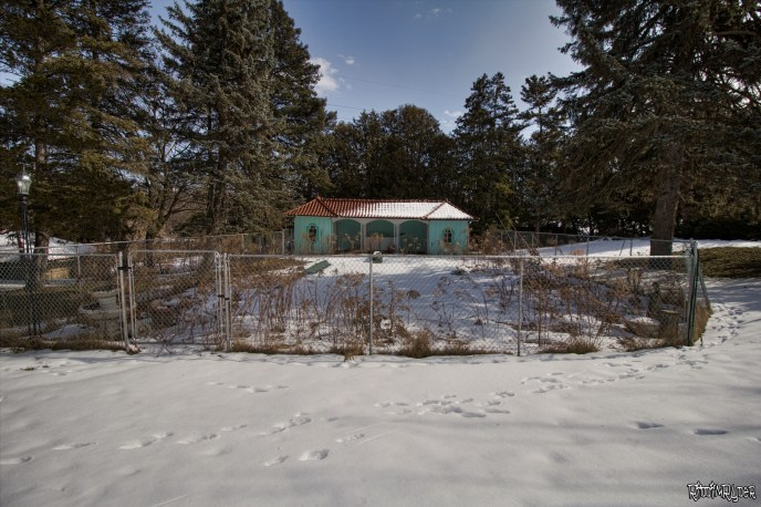 Abandoned Hillside Estate Gardens
