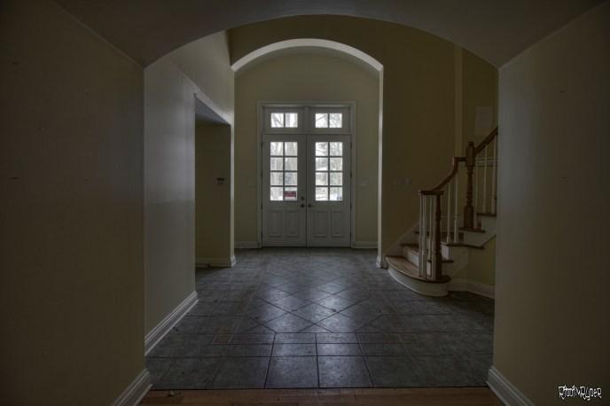 Abandoned Ontario Polish Mansion - Front Enterance