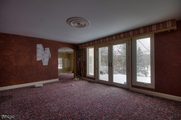 Abandoned Ontario Polish Mansion - Dining Room
