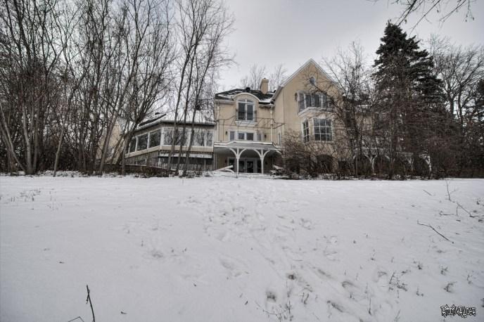 Abandoned Ontario Polish Mansion Exterior