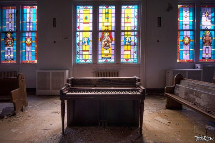 abandoned organ