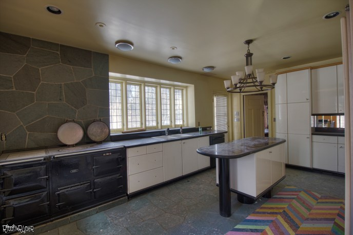 Abandoned Mansion Kitchen