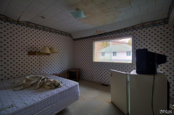 Abandoned Ontario Resort Bedroom