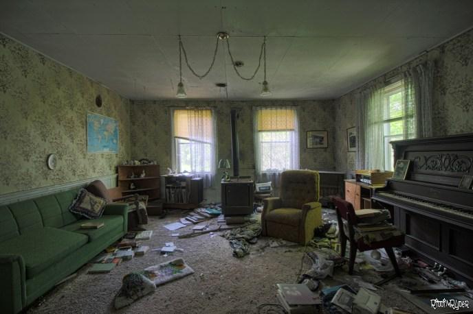 Abandoned Living room