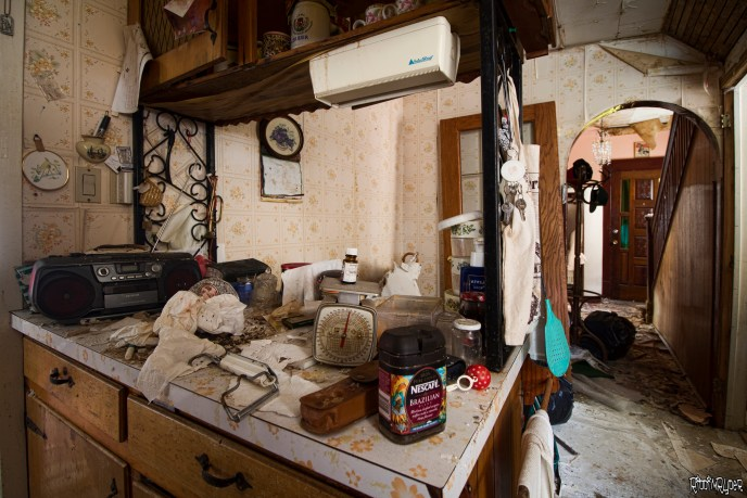 Decaying Kitchen