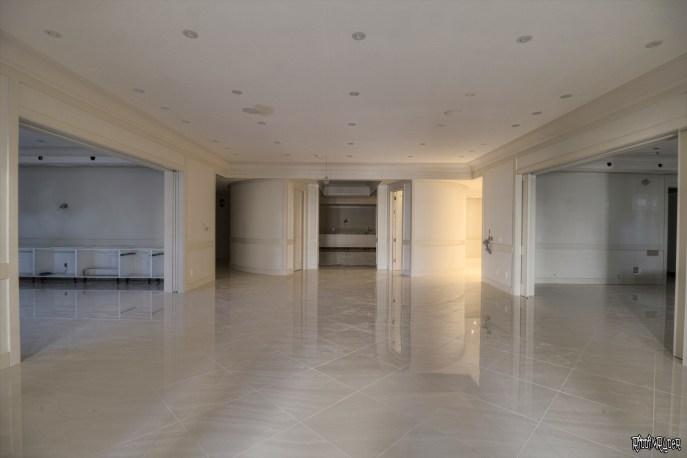 Billionaire's Vacant Mansion Basement