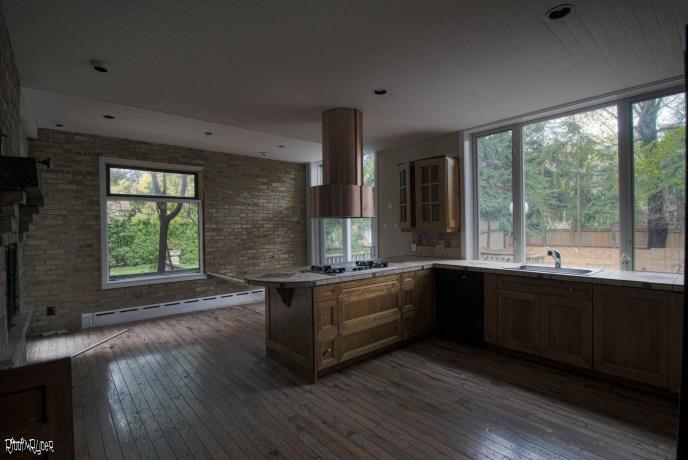 Beautiful Kitchen of abandoned home