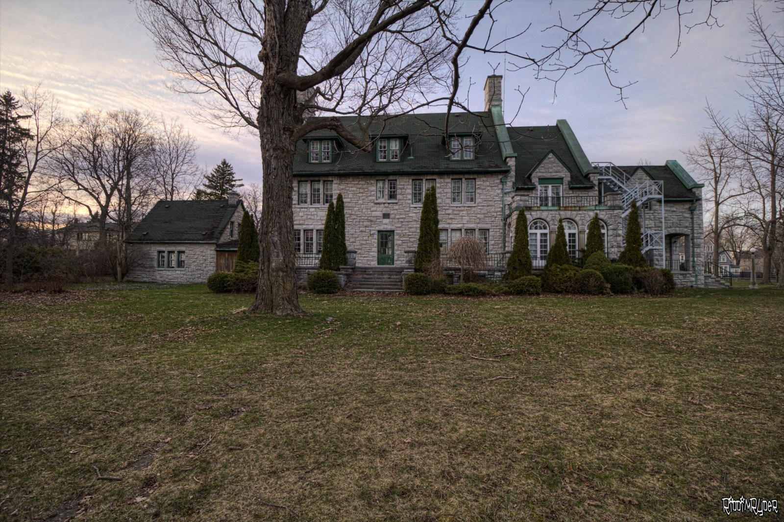 Abandoned Tudor Revival Mansion