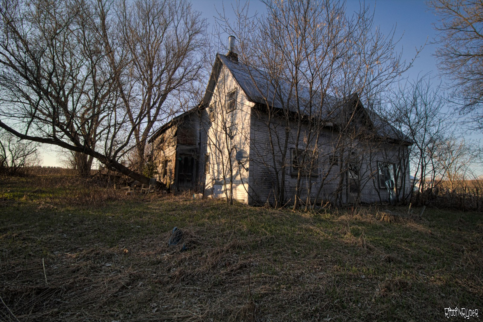 Abandoned Ontario Farm House