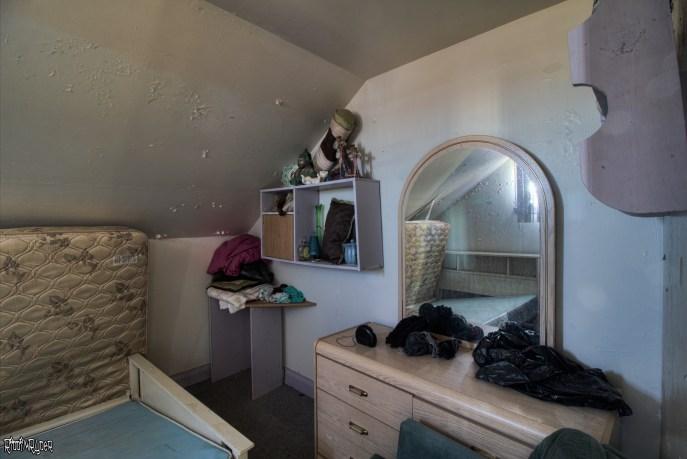 Abandoned House Bedroom