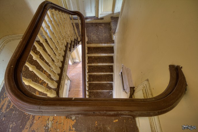 Abandoned stairs