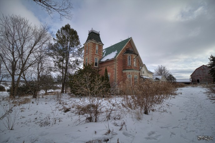 Exterior of the Abandoned House