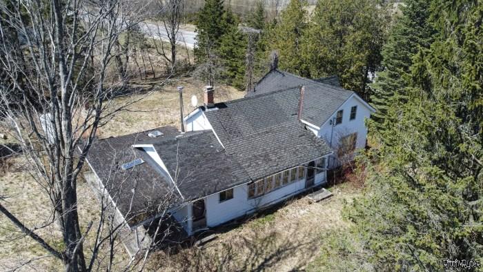 Abandoned Highway House
