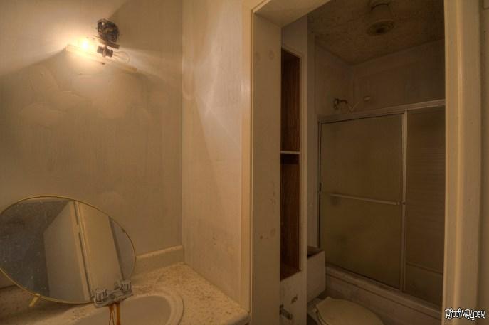 Abandoned Home Bathroom