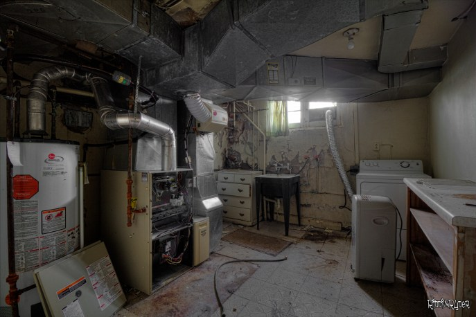 Abandoned House Basement