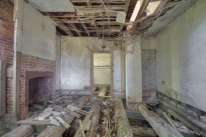 Living Room of the Abandoned House