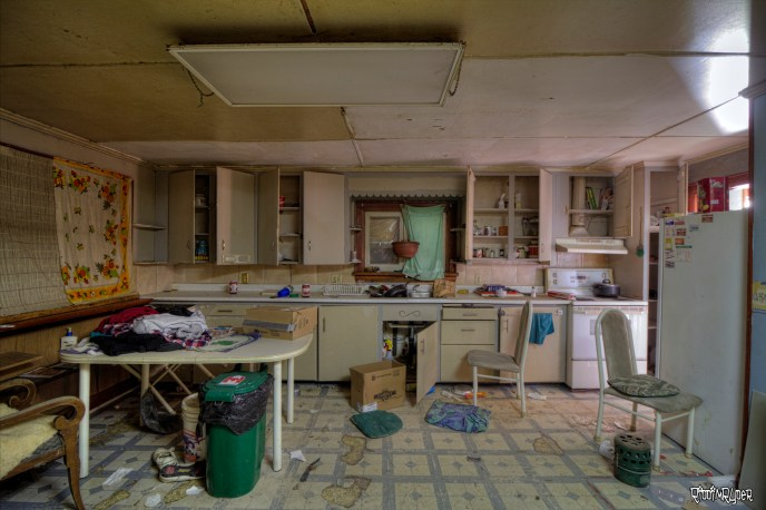 Abandoned Home Kitchen