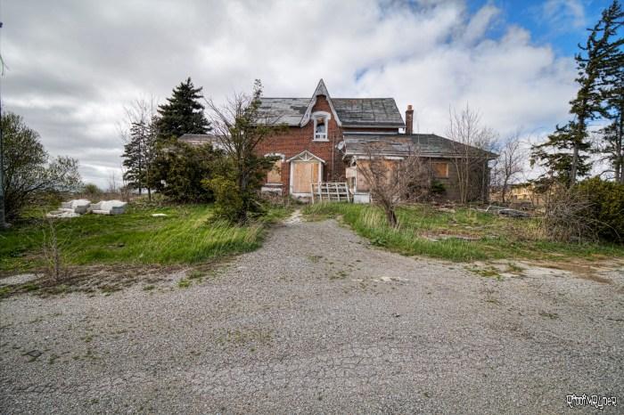 Outside Abandoned Sheep Farmer Home