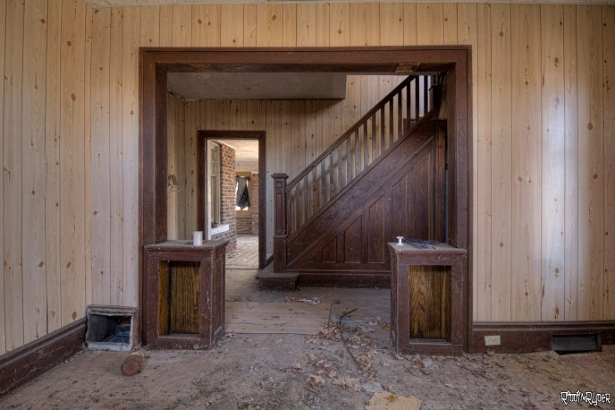 Beautiful Hardwood Stairs