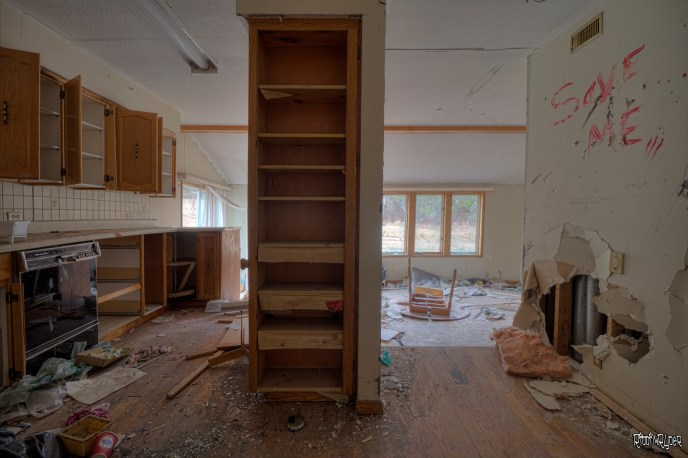 Kitchen of the Abandoned House