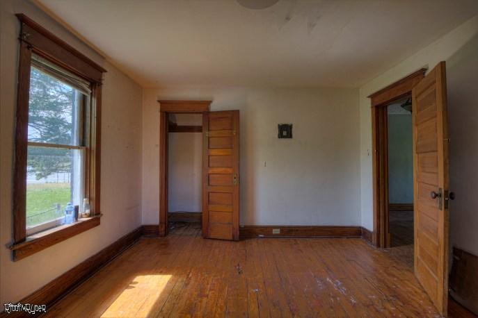 Abandoned Homestead Bedroom