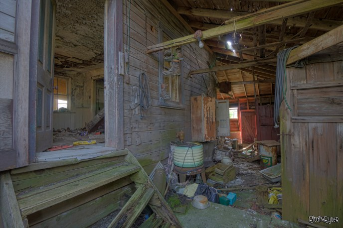 Side Room of the abandoned house