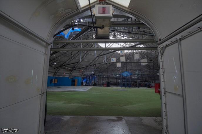 Abandoned Mississauga Playdium Batting Cages