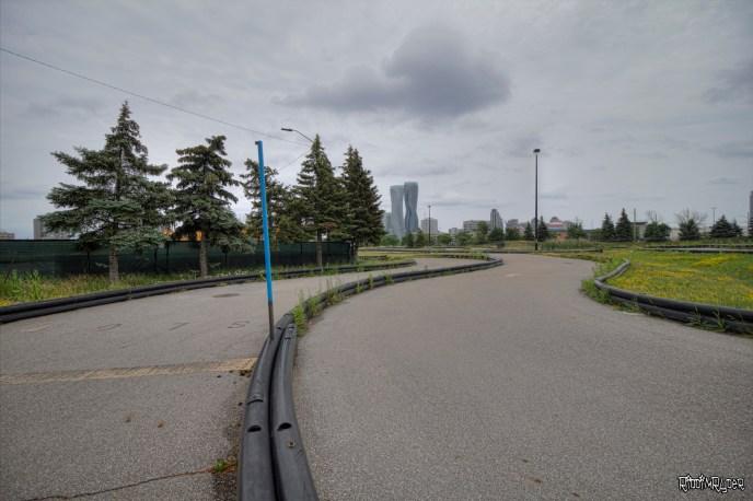 Go Kart Track at the Abandoned Playdium