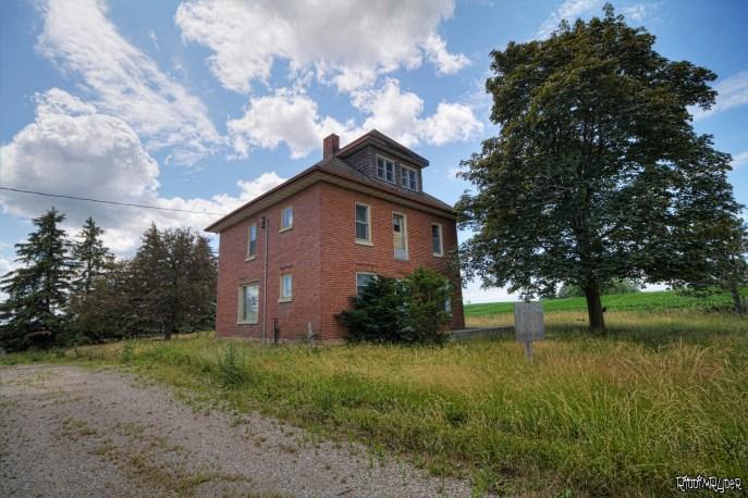 Outside the Abandoned House