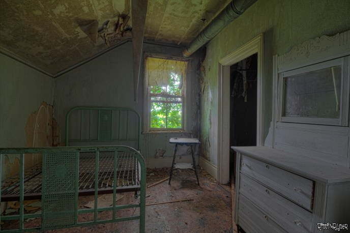 Bedroom with Antiques