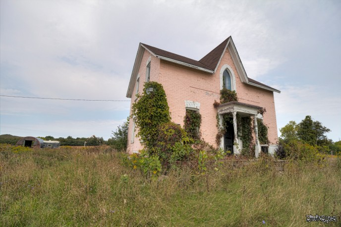 Abandoned Decayed Farm House
