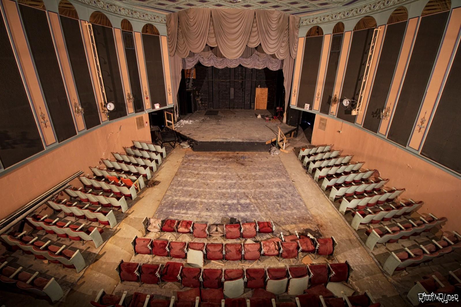 Abandoned Historic Ontario Theatre