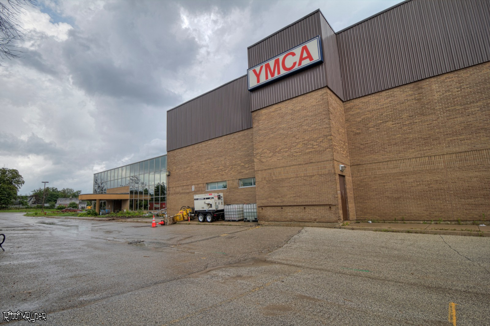 Abandoned YMCA Barrie Ontario