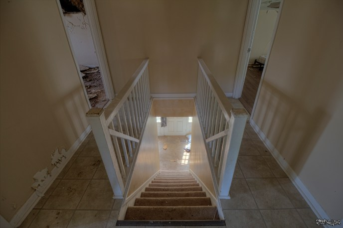 Back Staircase & Bedrooms
