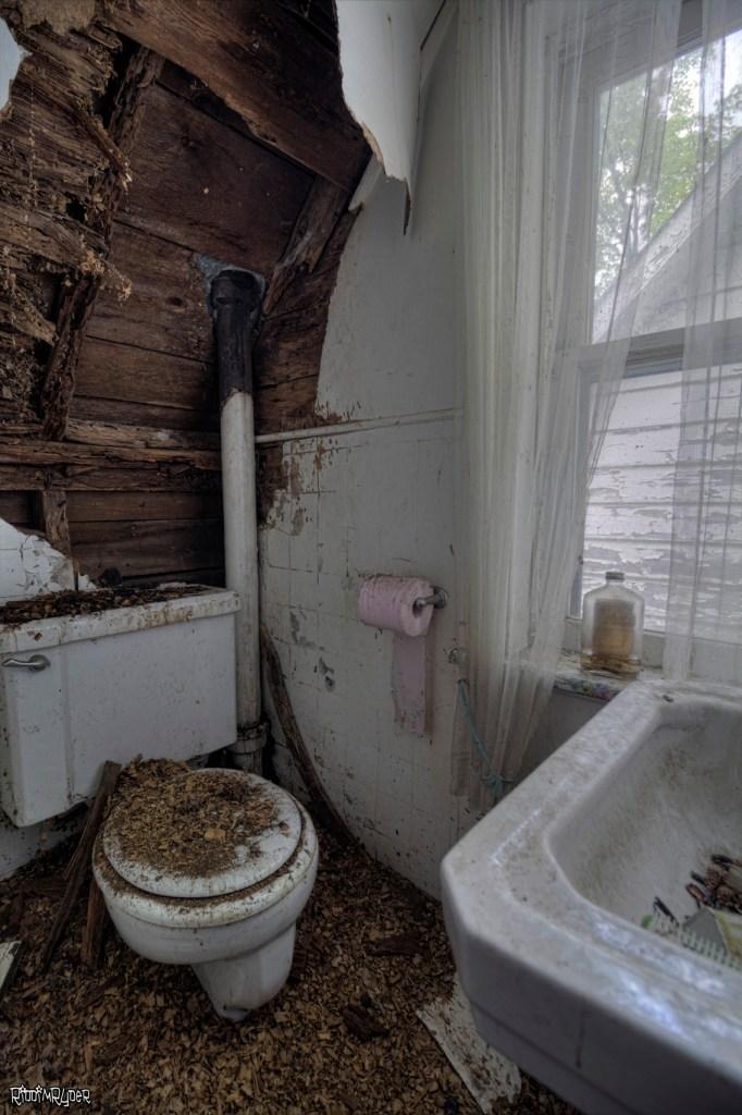 Decayed Bathroom