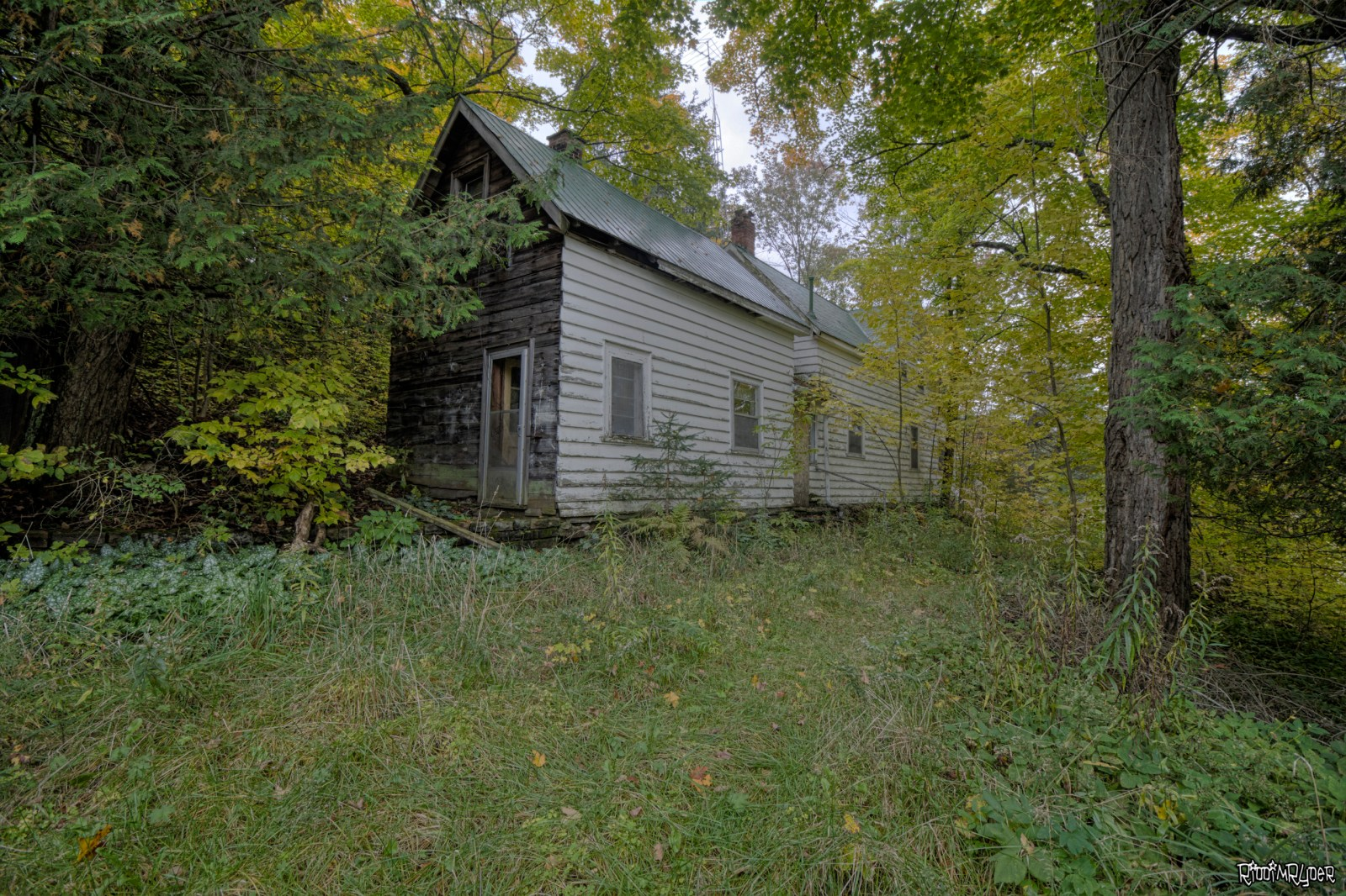 Abandoned Country Retreat