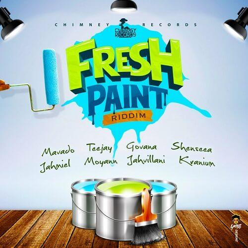FRESH PAINT RIDDIM - CHIMNEY RECORDS
