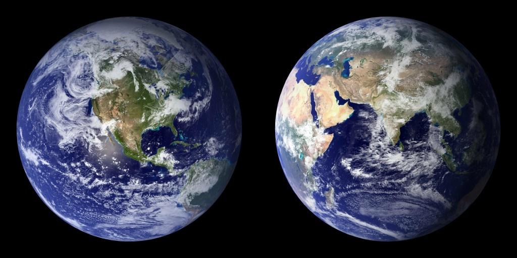 La Terre : notre magnifique planète bleue.