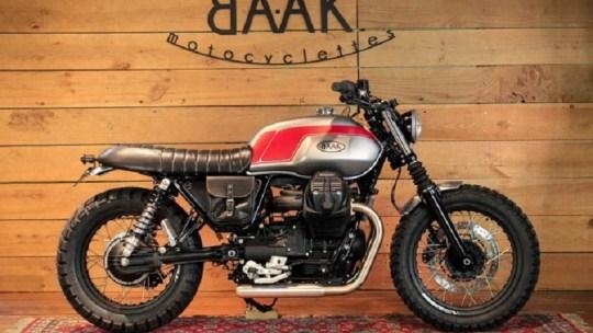 Baak Motocyclettes : un préparateur français de Motos Customs