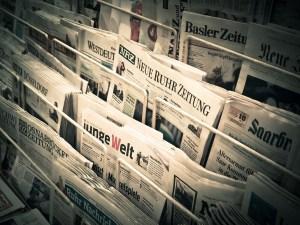 Revue de Presse : Étal de journaux