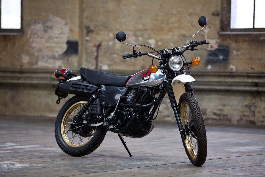 Yamaha Mythiques : la 500 XT, le monocylindre vintage par excellence.