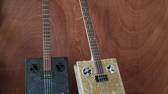 Cigarbox Guitars StLouis : des guitares au look résolument vintage
