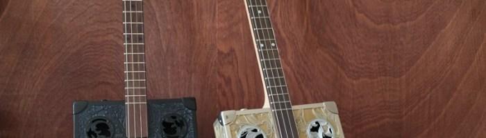 Cigarbox Guitars StLouis : des guitares au look résolument vintage