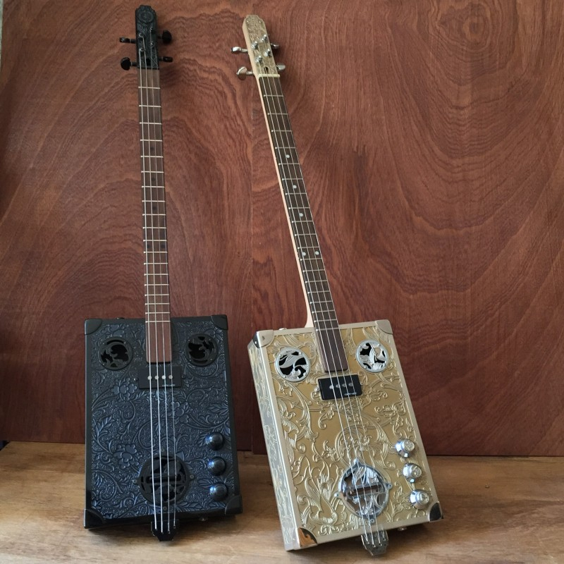 Les Cigarbox Guitars StLouis