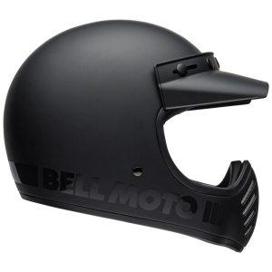 Casque Bell Moto 3 Classic matte gloss blackout